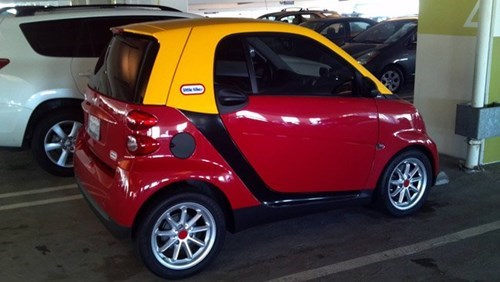 Enhanced Childhood of the Day: Little Tikes Smartcar