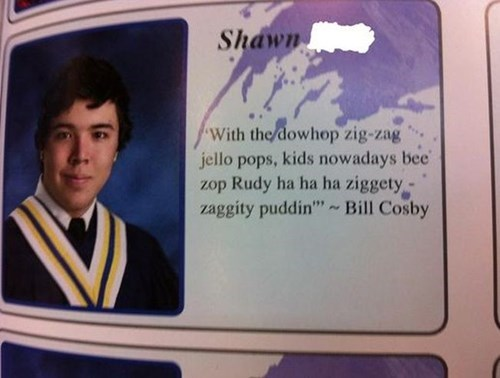quotes,yearbook,bill cosby,photos,funny