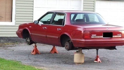 cars,propane tank,there I fixed it,funny