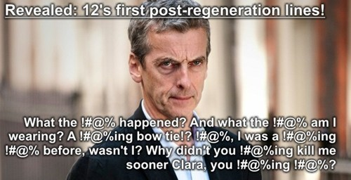 The 12th Doctor First Lines