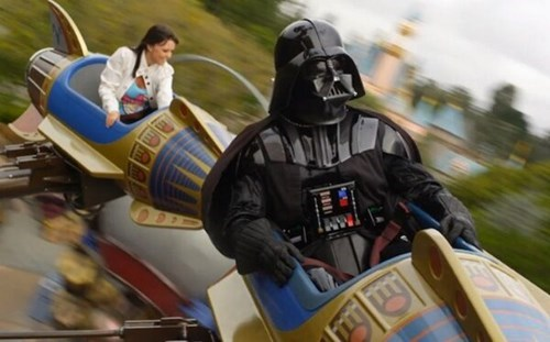scifi,star wars,darth vader,disneyland
