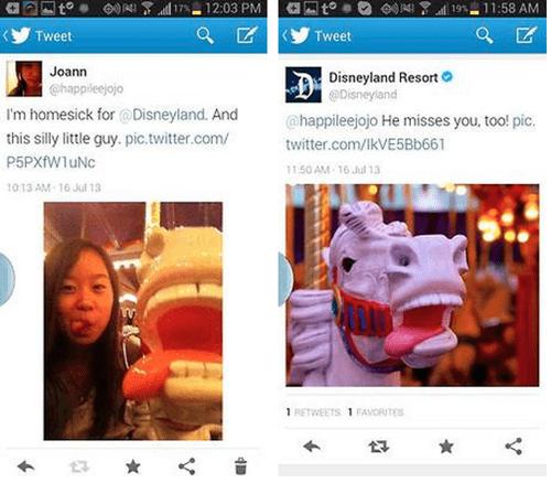 Sometimes Taking Selfies at Disneyland Pays Off