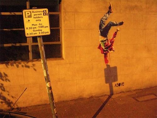 graffiti,shadows,hacked irl,funny