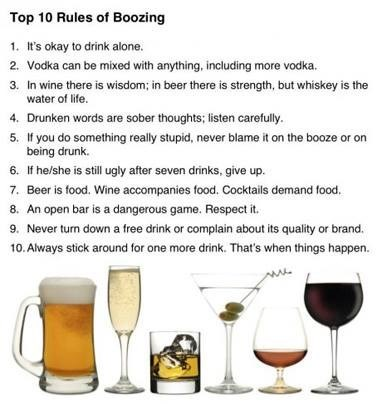The Rules of Booze