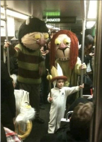 Apparently They're Also on the Subway