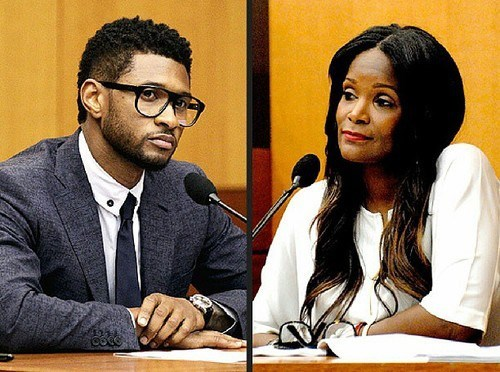 After Pool Accident, Usher's Ex-Wife Wants Custody