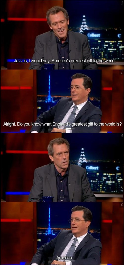 Stephen Colbert: A True Patriot