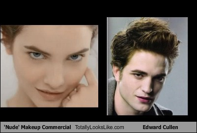 Makeup Commercial Totally Looks Like Edward Cullen
