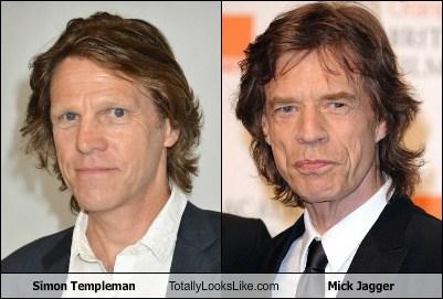 mick jagger,totally looks like,simon templeman,funny