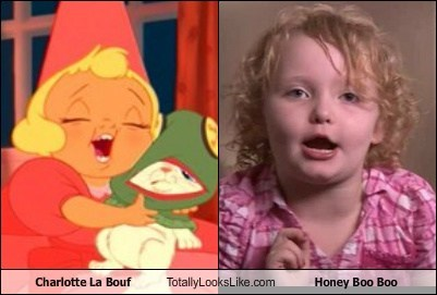 Charlotte La Bouf Totally Looks Like Honey Boo Boo