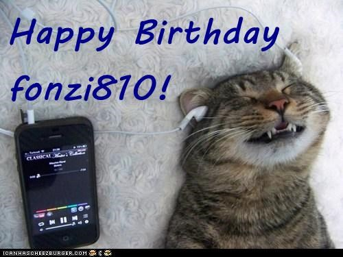 Happy Birthday fonzi810!