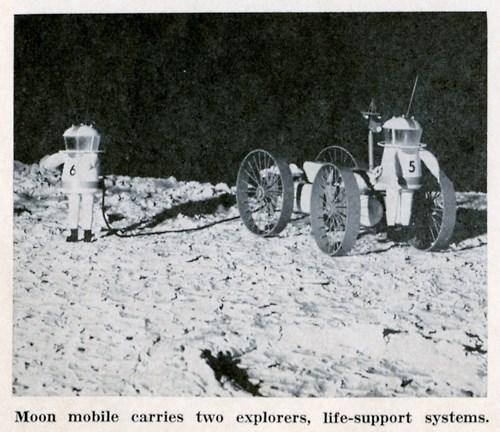 nasa,wtf,old timey,astronaut,funny,wagons