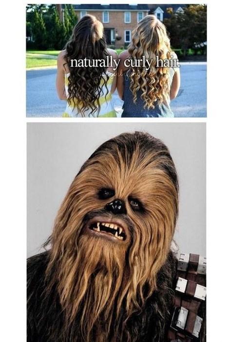 hair,just girly things,star wars,chewbacca