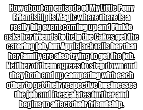 MLP episode idea