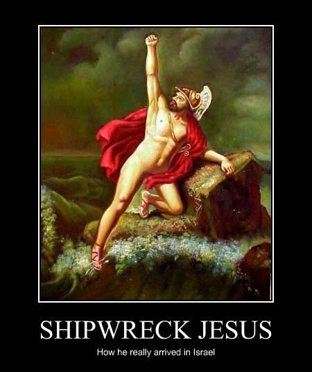 SHIPWRECK JESUS