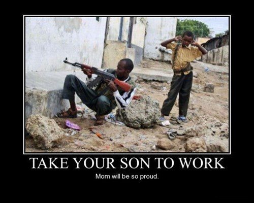 Kids Love Seeing What Their Parents Do