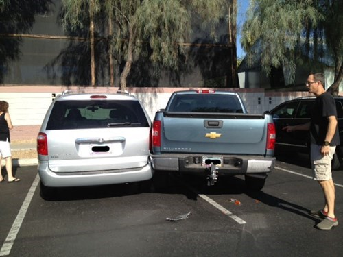 This Guy is Absolutely the Worst Parker Ever