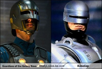 Guardians of the Galaxy Nova Totally Looks Like RoboCop