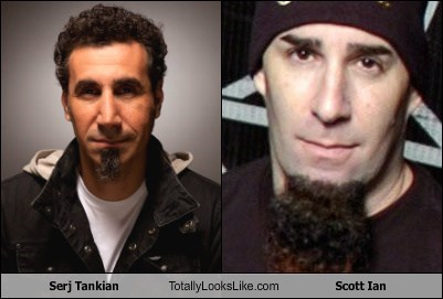 Serj Tankian Totally Looks Like Scott Ian
