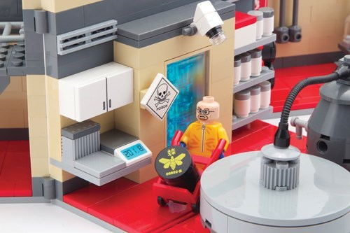 This Breaking Bad LEGO Lab Can be Yours for $250.00