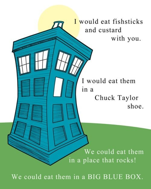Maybe Doctor Seuss is Doctor Who