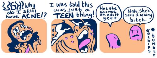 gross,acne,funny,web comics