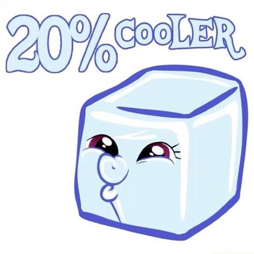 20% Cooler. Literally.