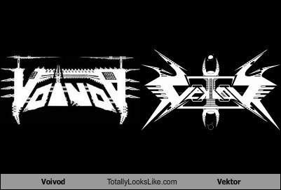 Voivod Totally Looks Like Vektor