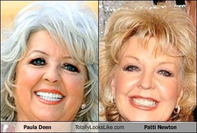 Paula Deen Totally Looks Like Patti Newton