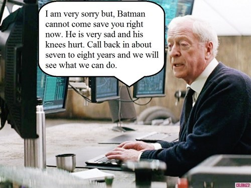 The Dark Knight Takes Sabbatical