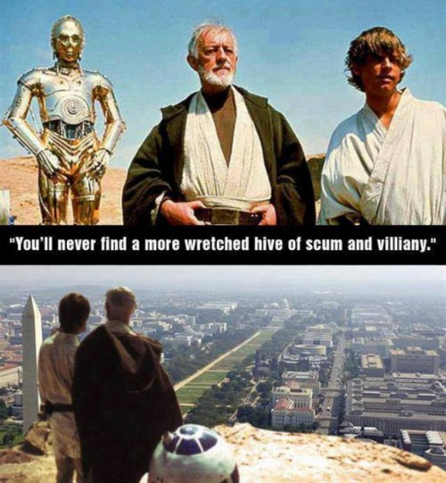 DC is the New Mos Eisley
