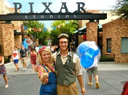 cosplay,up,cute,pixar,disneyland