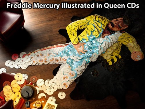 Freddie Mercury CD Inception