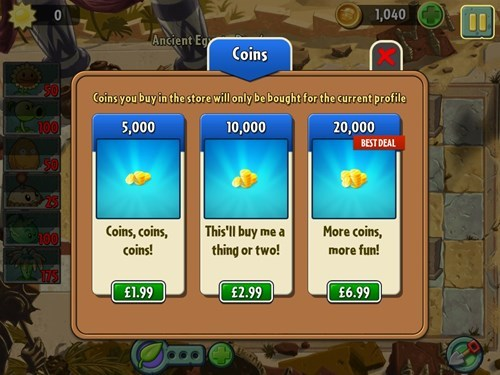 EA,plants vs zombies 2,deals,you've got to be kidding me