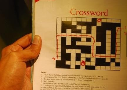 This Crossword Was Really Easy