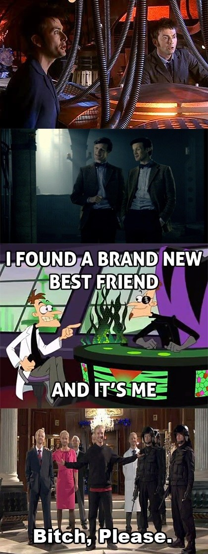 crossover,Dr-Heinz-Doofenshmirtz,doctor who,the master,phineas and ferb