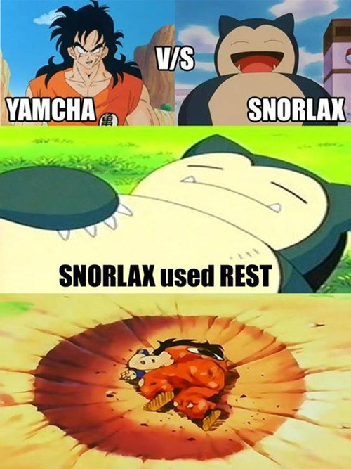 Yamcha Even Loses to Splash