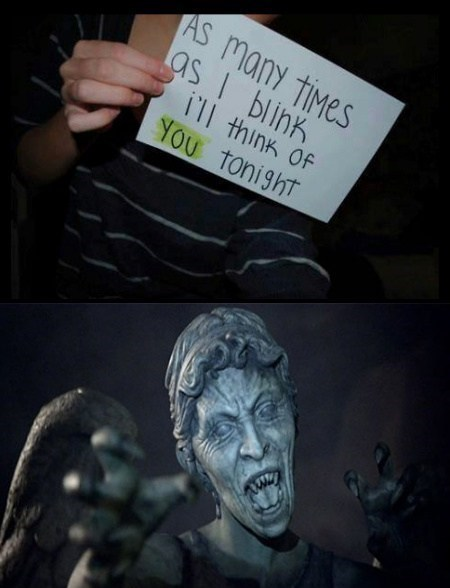 weeping angels,relationships,dont-blink