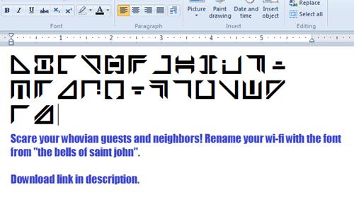 Wi-Fi font
