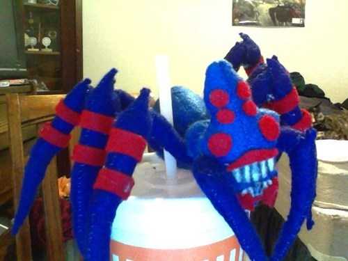 Dota 2 prototype Broodmother plushie
