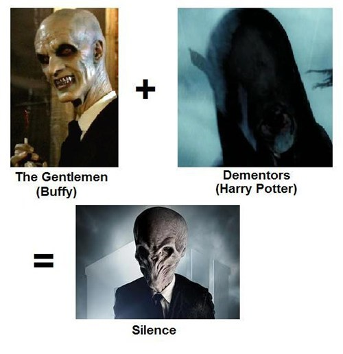 crossover,Harry Potter,doctor who,the silence,Buffy the Vampire Slayer