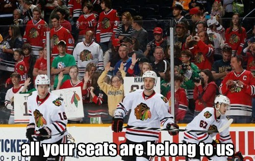 all your seats are belong to us