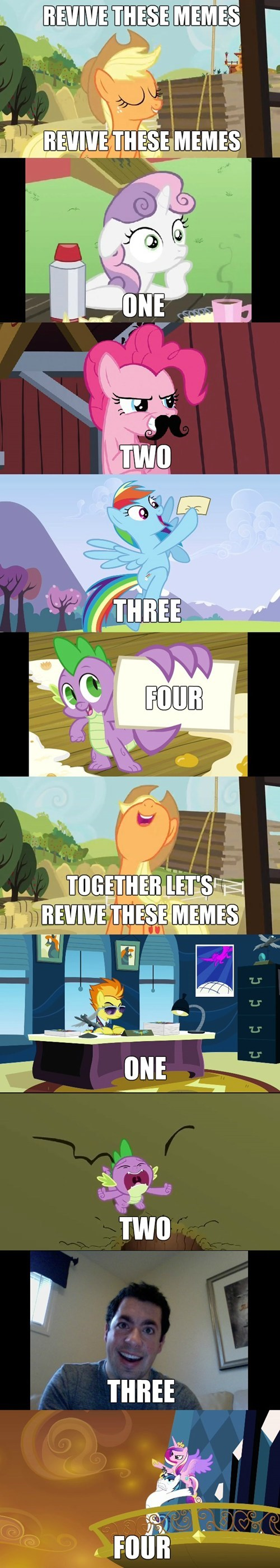 one two three four,Memes,revive all the memes