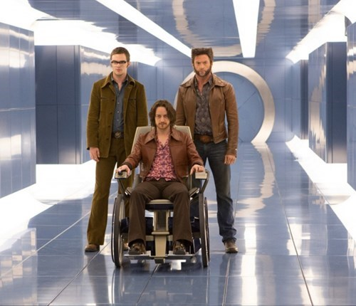 Young Beast, Xavier, and Wolverine Looking Fly in This New Days of Future Past Photo