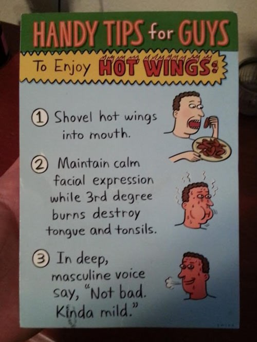 tips,hot wings,chicken wing