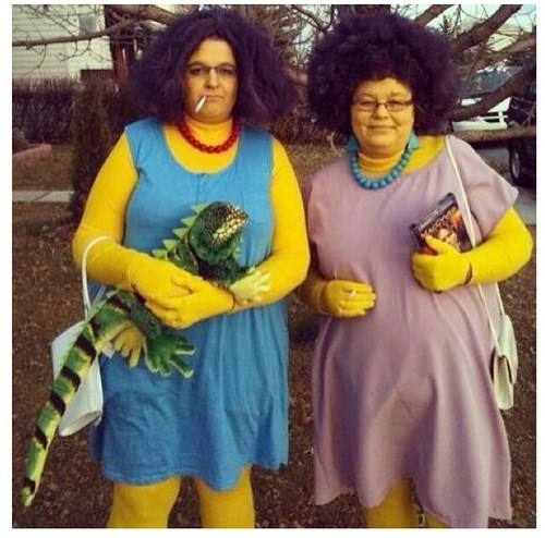 Patty and Selma Cosplay