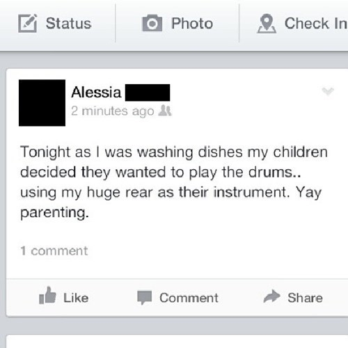 Mommy is Not a Percussion Instrument