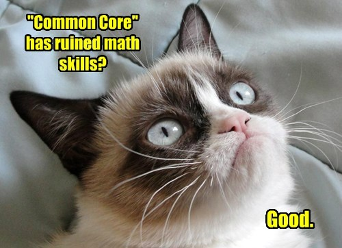"""Common Core"" has ruined math skills?"