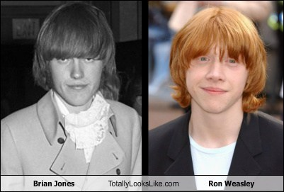 Brian Jones  Totally Looks Like Ron Weasley