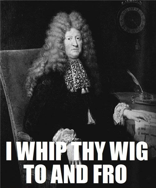 Translation: I Whip My Hair Back and Forth